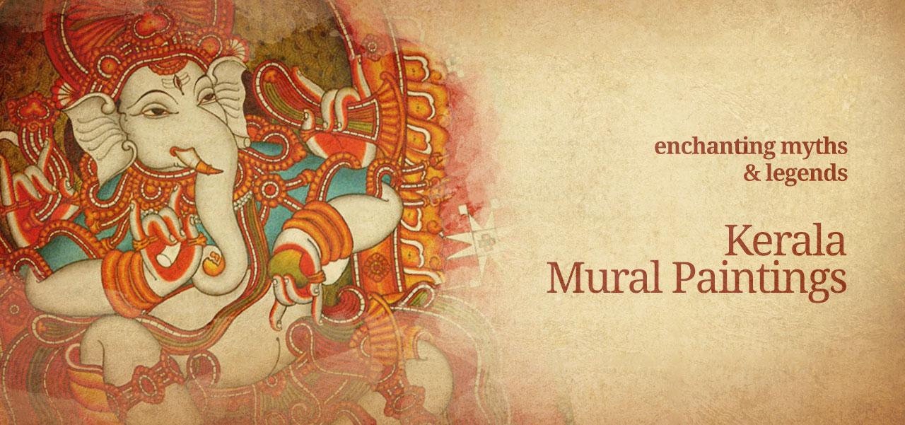 Kerala mural paintings archives shopswasthi for Ananthasayanam mural painting